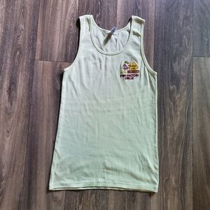 Like new! Slime Green Tourist Tank